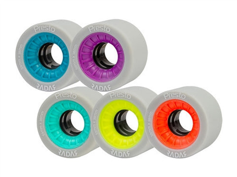 RADAR PRESTO WHEELS (Pack of 4)