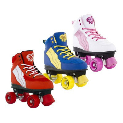 Rio Pure Roller Skates BLUE UK 4