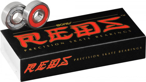 8mm Bones Red's Bearings (8 Pack)