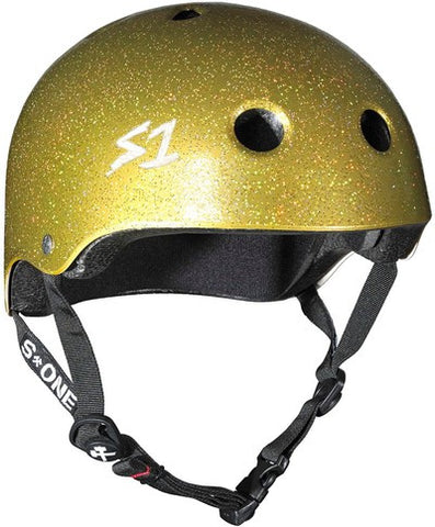 S-One Lifer Helmet Gold Glitter