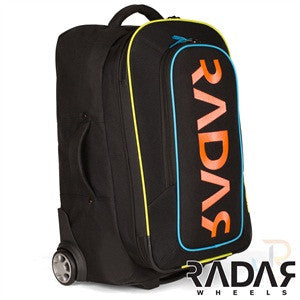 NEW RADAR WHEELS ROLLING GEAR BAG - BLACK