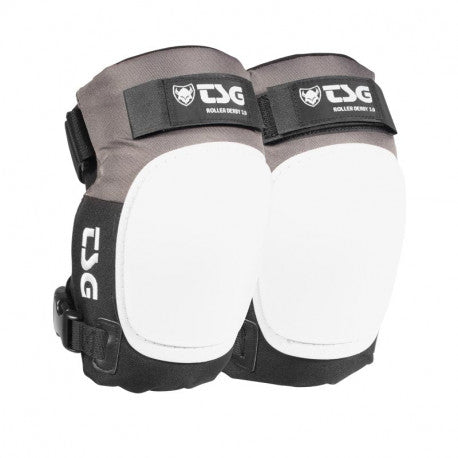 TSG Roller Derby 3.0 Knee Pads - Coal/Black