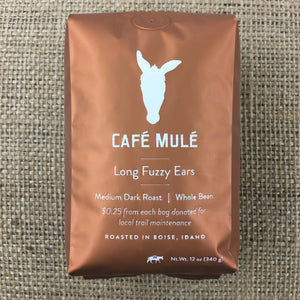 Long Fuzzy Ears Blend <br/> <b>Medium-Dark Roast</b> <br/> 12 oz.