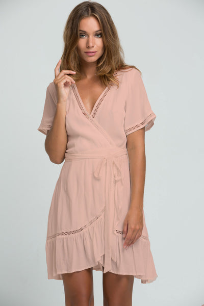 PM1529 Chloe Wrap Dress
