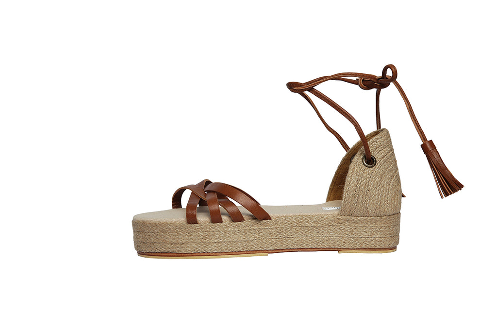 Aria Strappy Wedge