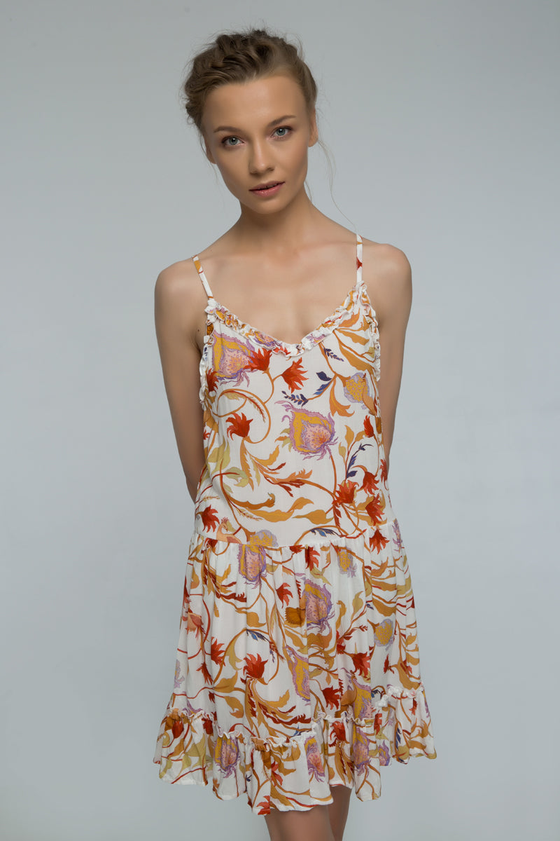 Floral Eve Strappy Dress