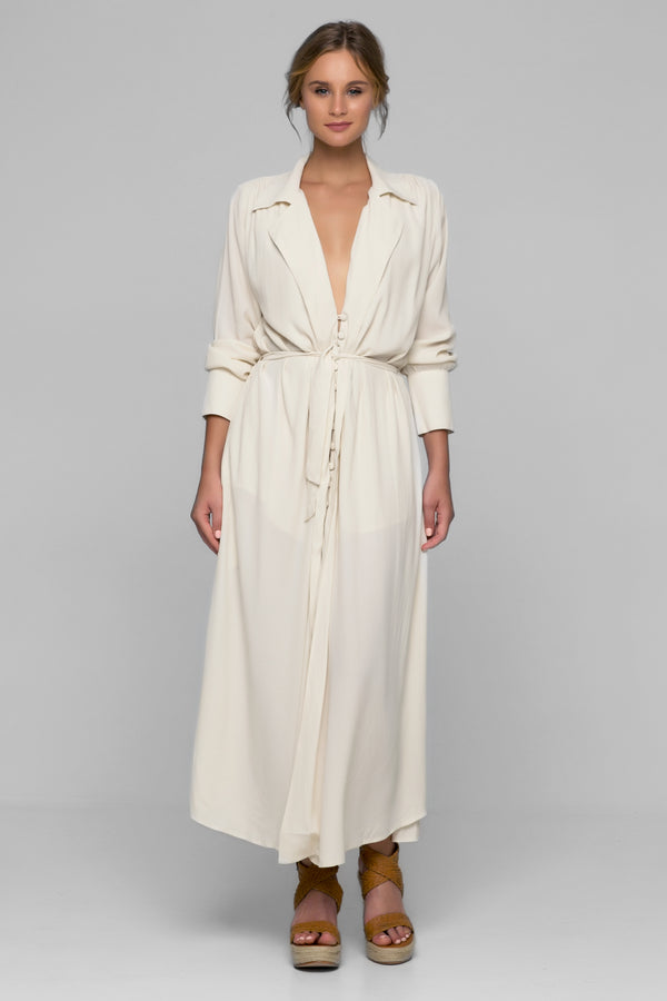 Sharona Maxi Shirt Dress