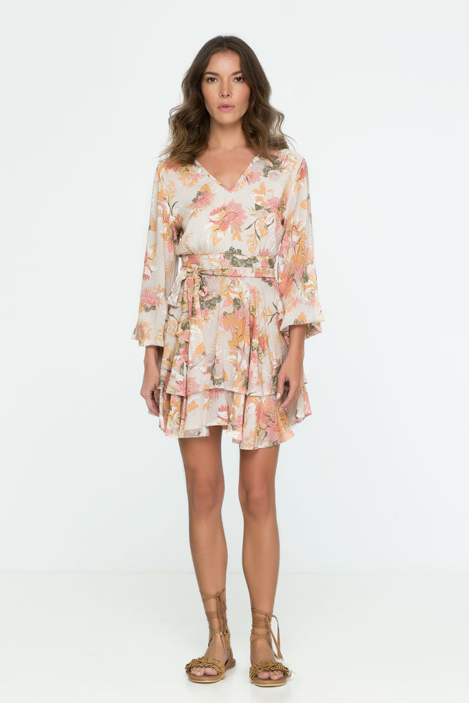 Wild Bloom Mini Dress