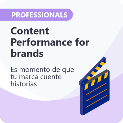 Content Performance para Professionals