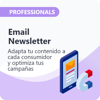 Email Newsletter para Professionals