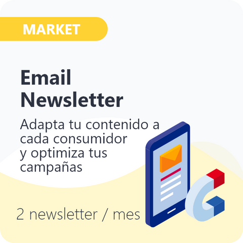 Email Newsletter para Consumo