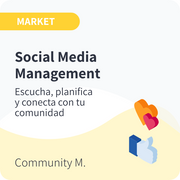 Social Media Management para Market
