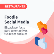 Foodie Social Media para Restauración