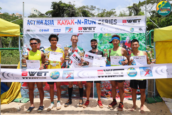 Action Asia Kayak & Run in association with BWET