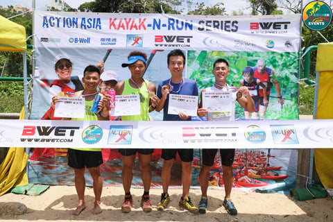 Action Asia Kayak & Run in association with BWET - Discovery Bay