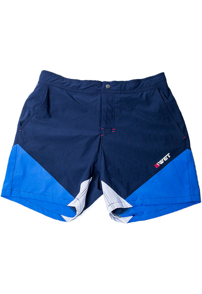 Eco-Friendly Quick dry UV protection Perfect fit Navy Beach Shorts Butterfly Side pockets and back zipper pocket