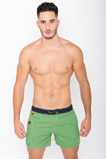 Swim Shorts Ozone by BWET Swimwear Maroon