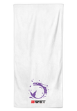 BWET Purple Beach Towel