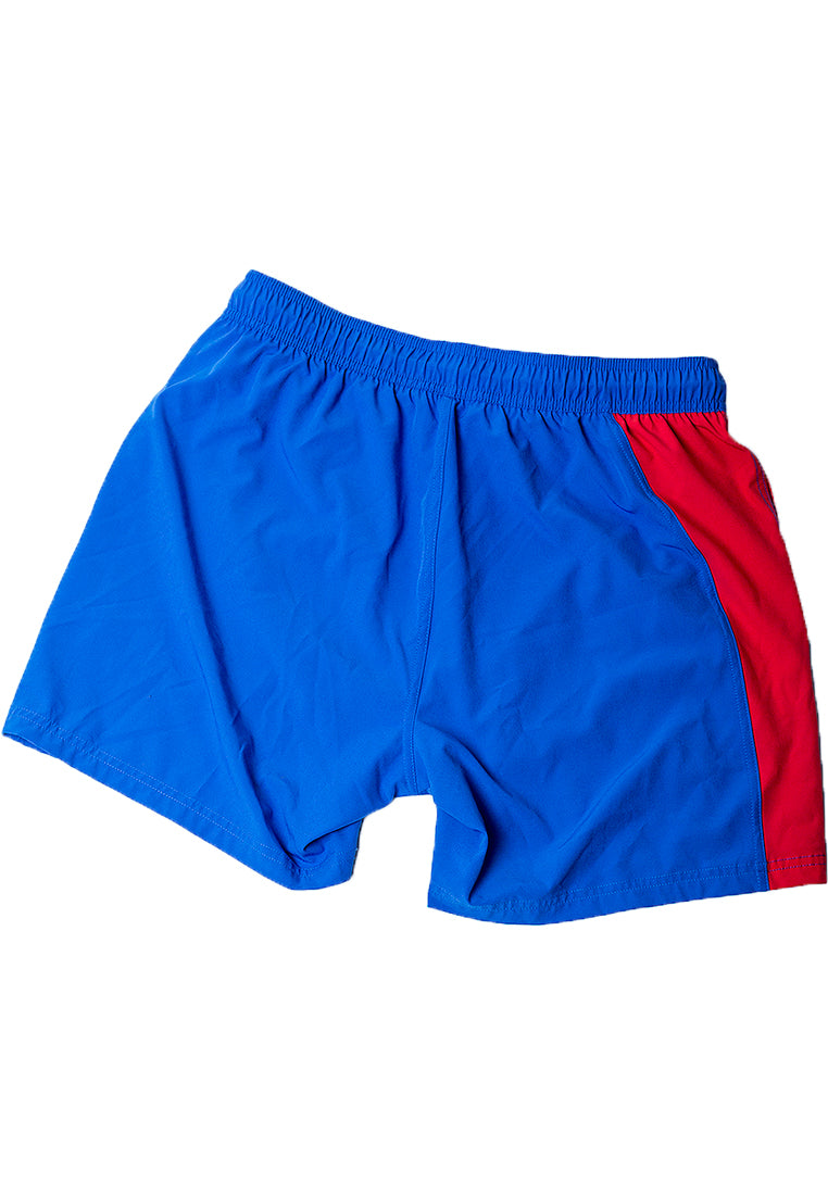 "Eco-Friendly Quick dry UV protection Perfect fit Blue Beach Shorts ""LALU"" Side pockets"