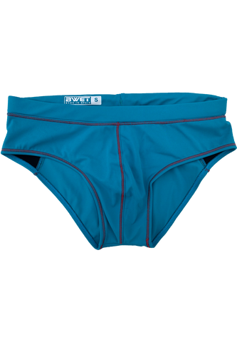 "MEN'S BEACH SHORTS ""LALU"" BY BWET SWIMWEAR - BLUE, NAVY"