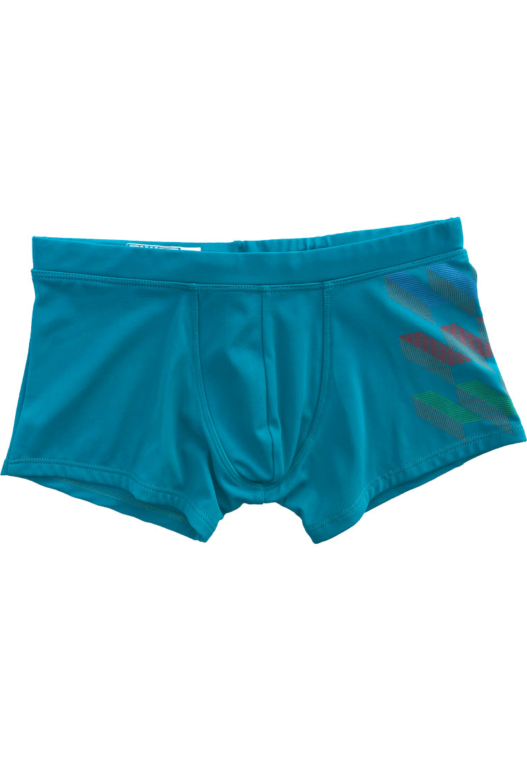 "Turquoise beach trunks ""ICEBERG"" Quick Dry UV Protection Perfect fit"
