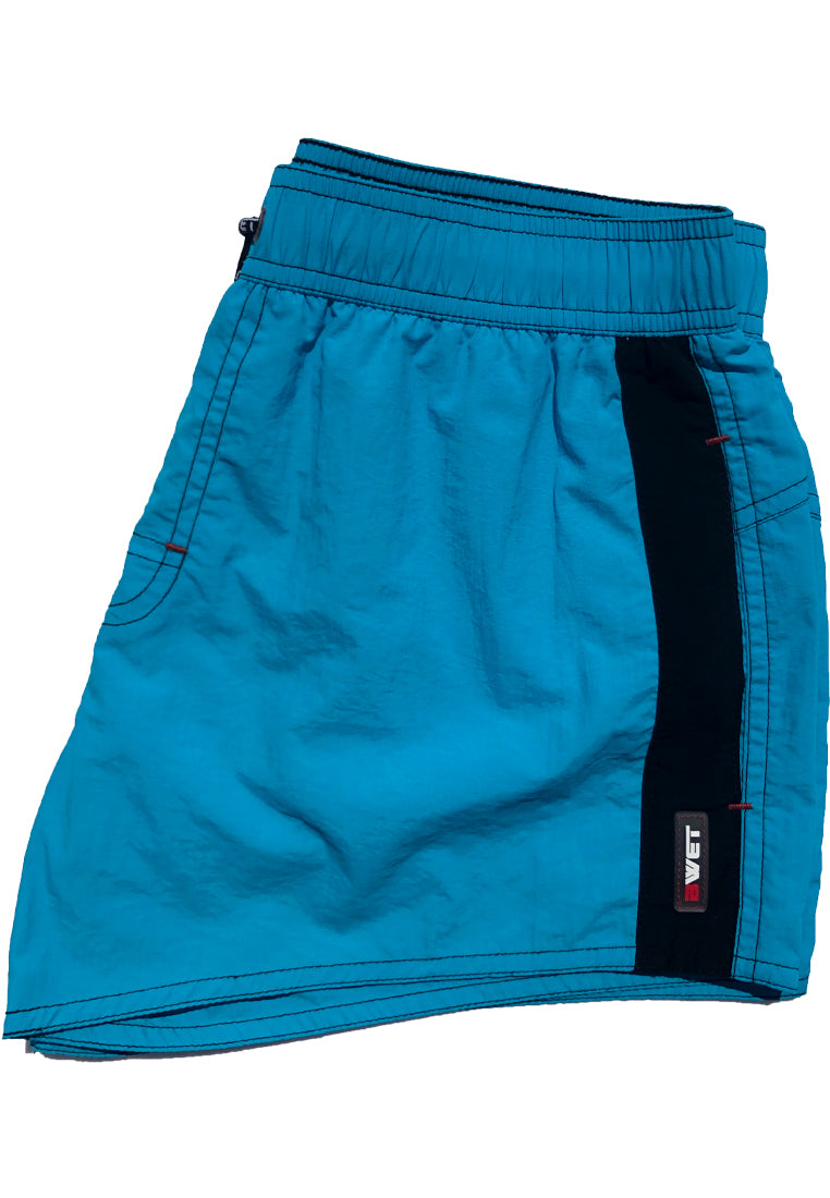 "Quick dry UV protection Perfect fit Turquoise Beach Shorts ""ATMOSPHERE"" Side pockets"