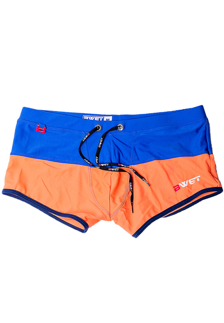 "Quick dry UV protection Perfect fit Navy Beach Trunks ""SENTOSA"""