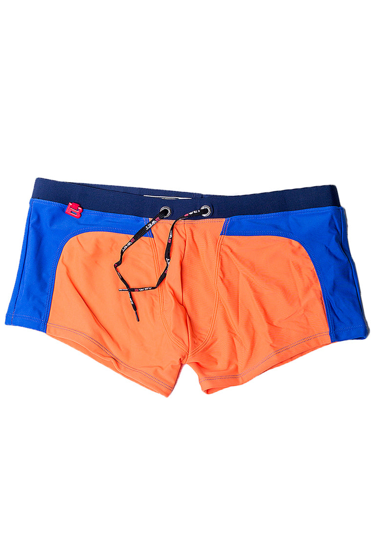 "Quick dry UV protection Perfect fit Red/Blue Beach Trunks ""Clifton"""