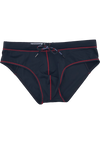 "Quick dry UV protection Perfect fit Black Beach Briefs ""TUSKANY"""