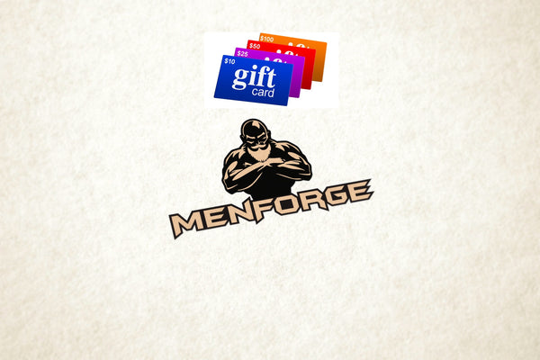Gift Cards MenForge