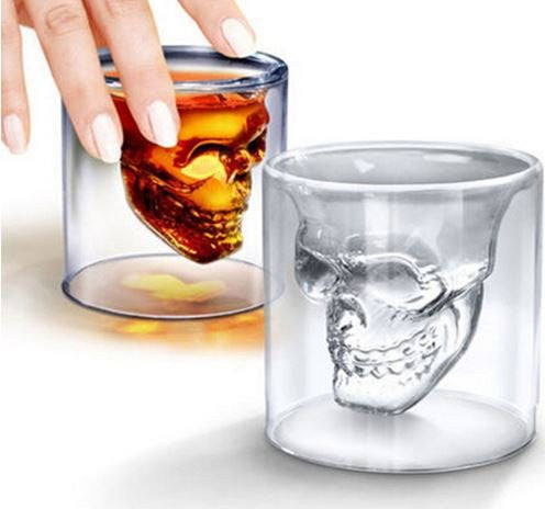 Crystal Skull Head Carafe + 2 FREE Glasses (Limited Offer)