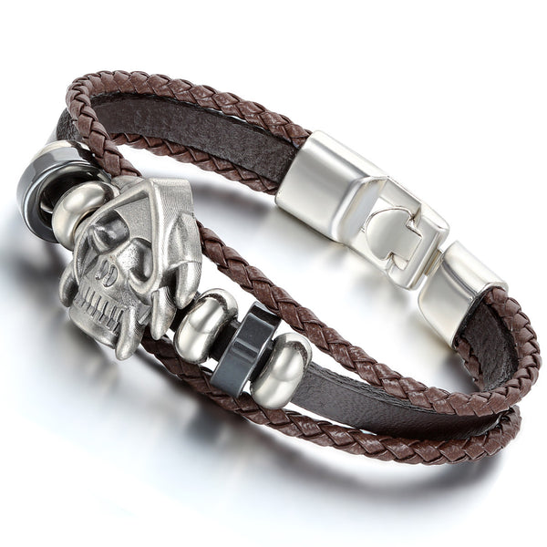 Awesome FREE Skull Special Men Bracelet