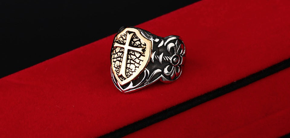 FREE Badass Stainless Steel Knights Ring