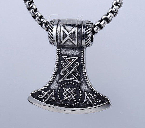 Badass Thor's Hammer Pendant Necklace