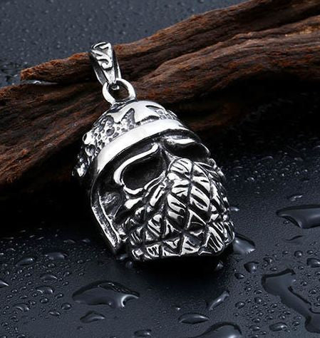 Biker Warrior Pendant