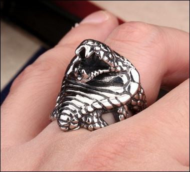 Badass Cobra Ring