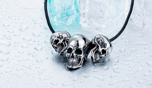 Three Skulls Pendant