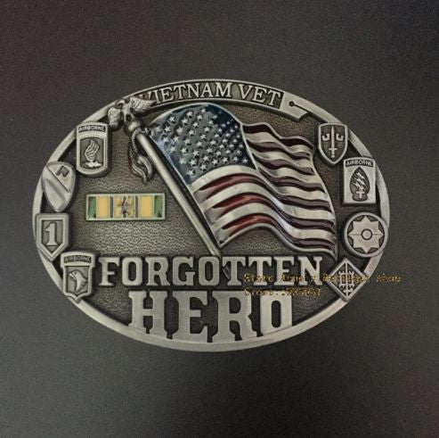 Forgotten Heroes of Vietnam Belt Buckle