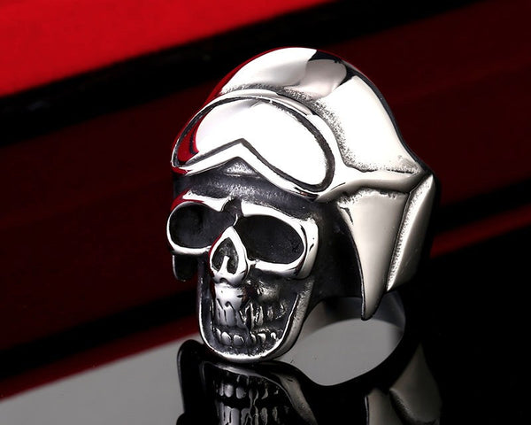 Awesome FREE Biker Skull Ring