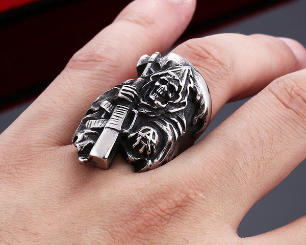 Badass FREE Death Skull Ring