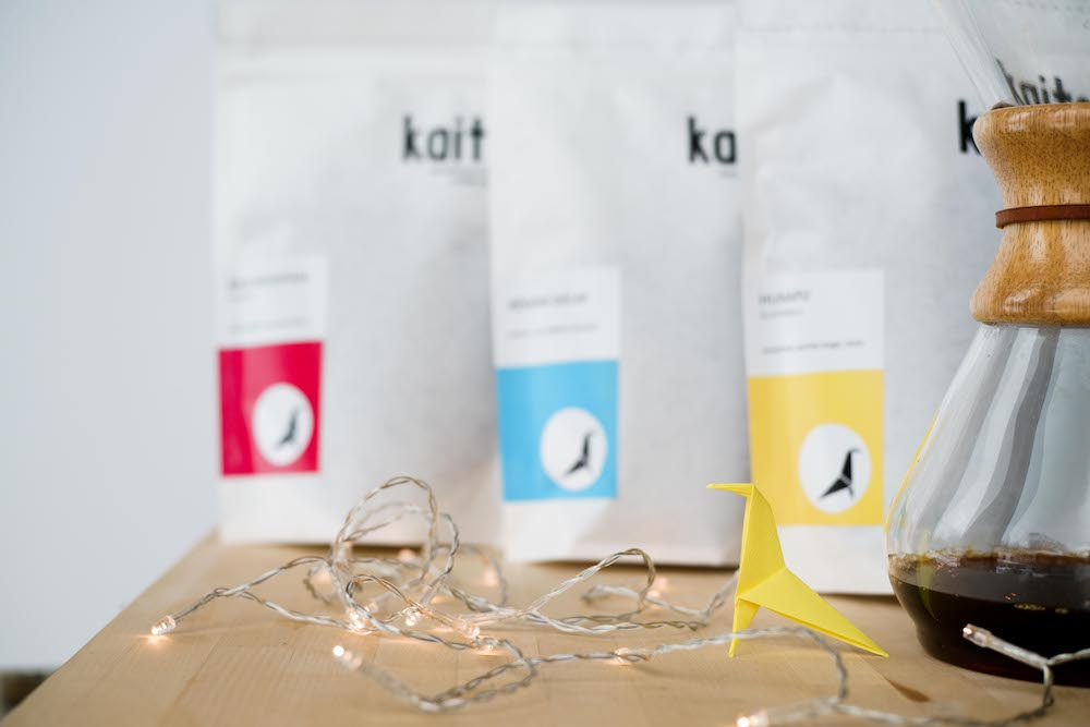 Kaito Coffee Gift Box : specialty coffee taster pack. Perfect for the coffee snob in your life.