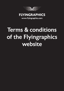 Flyingraphics Terms & Conditions