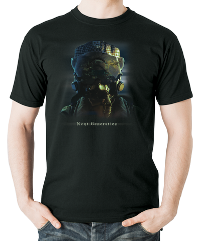 Next generation-flying helmet-flyingraphics-tshirt
