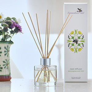 Lemongrass and Mint Reed Diffuser by Summerdown Mint