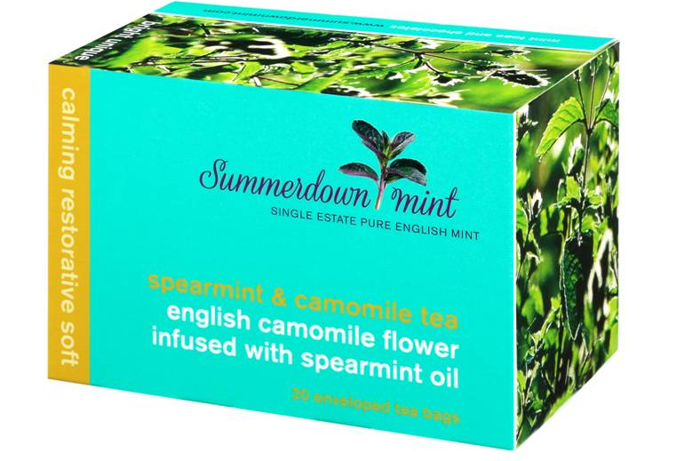 English spearmint & camomile tea by Summerdown Mint