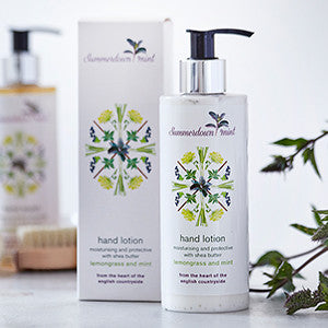Lemongrass and Mint Hand Lotion by Summerdown Mint