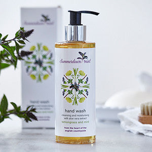 Lemongrass and Mint Hand wash by Summerdown Mint