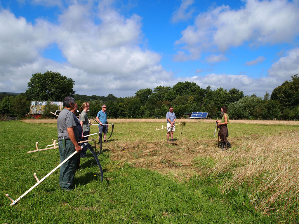 Introduction to scything course