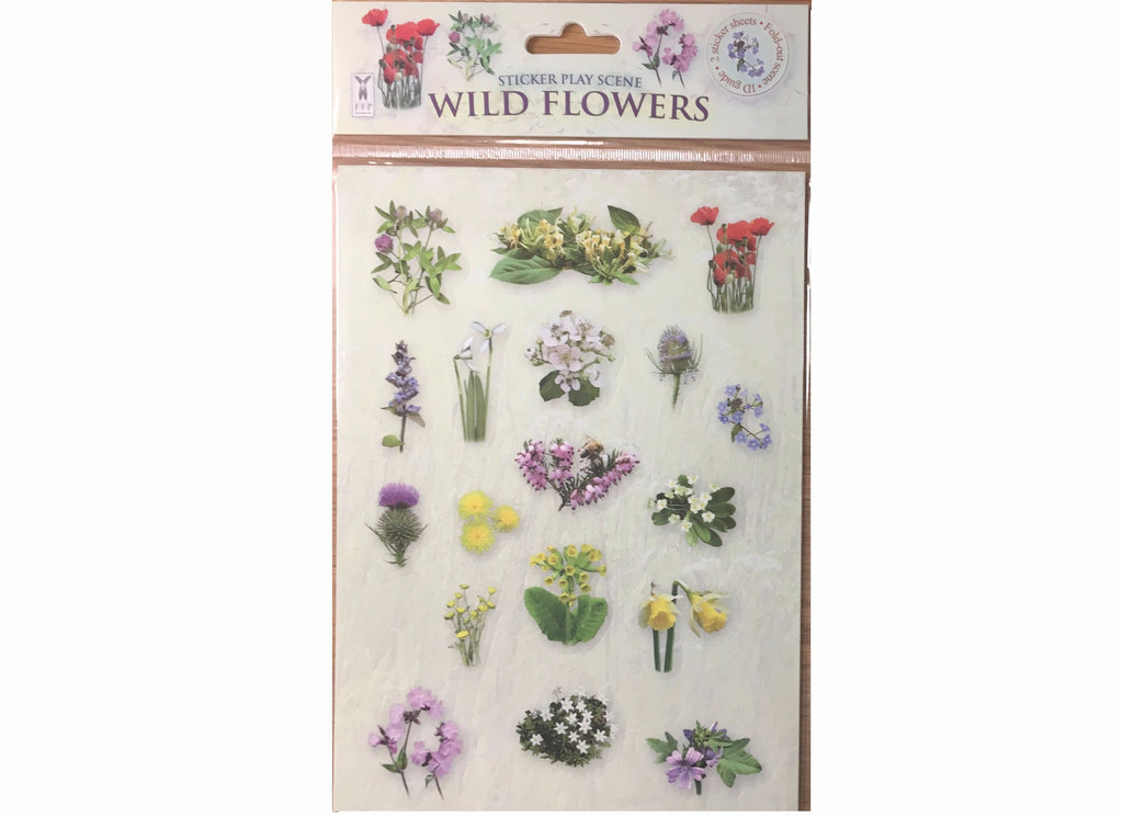 Wildflower Sticker Play Scene