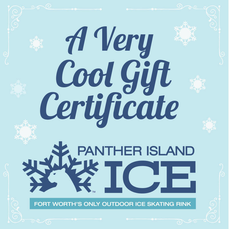 Panther Island Ice Gift Certificate (1 Admission)